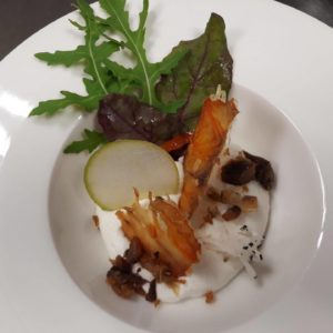 Mousse de tarama blanc